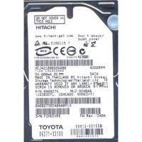 "Жесткий диск HDD 2.5"" PATA 80GB Hitachi HEJ421080G9AT00 4200rpm 8MB"