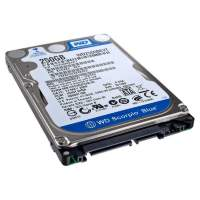 "Винчестер HDD 2.5"" SATA 250GB WD WD2500BEVT 5400rpm 8MB"
