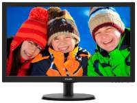 "Монитор TFT22"" Philips 223V5LSB2 LED Black 5ms"