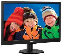 "Монитор TFT19"" Philips 193V5LSB2 LED Black 5ms"